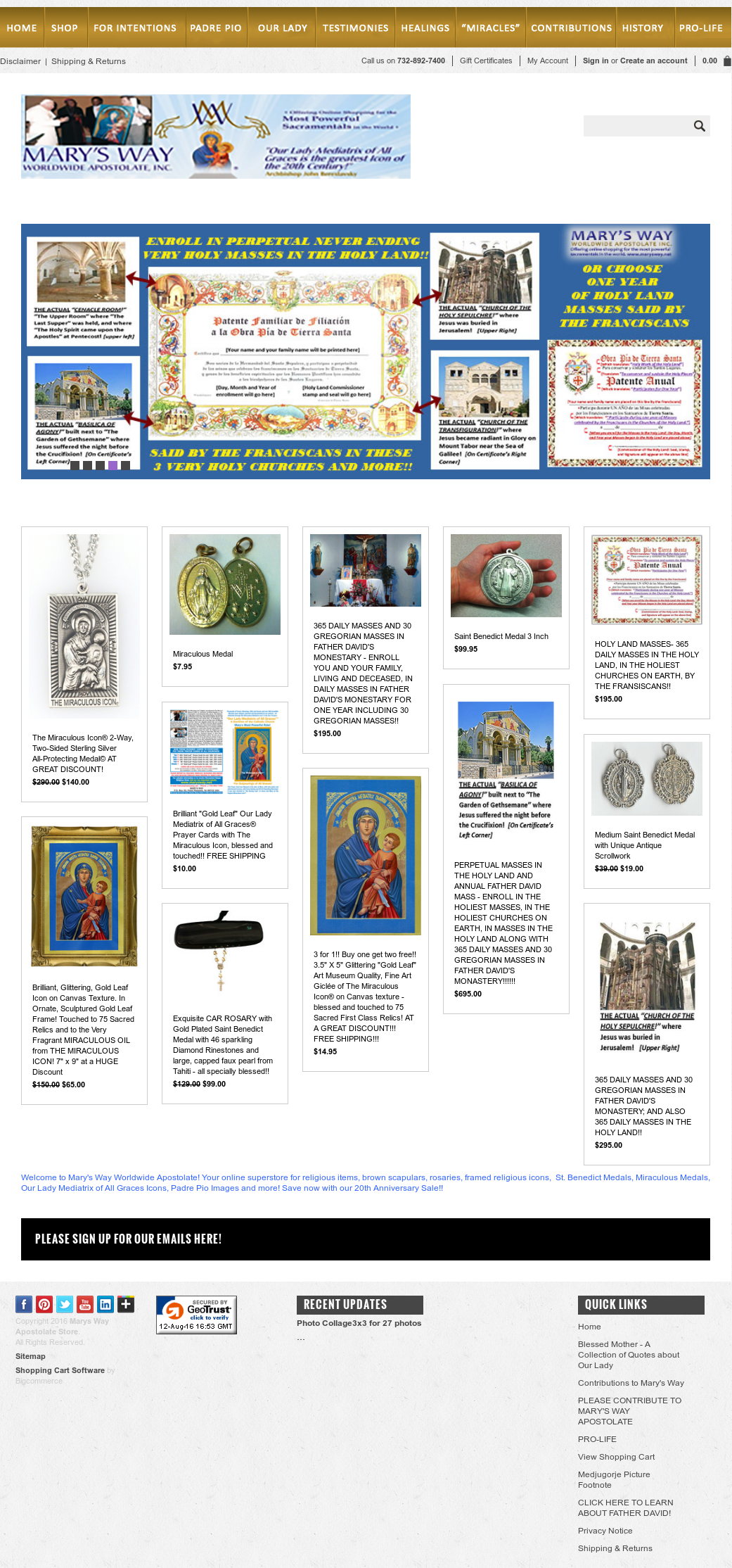 Mary's Way Worldwide Apostolate Competitors, Revenue and Employees