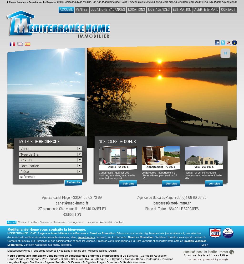 Mediterannee Home Immobilier Competitors Revenue And