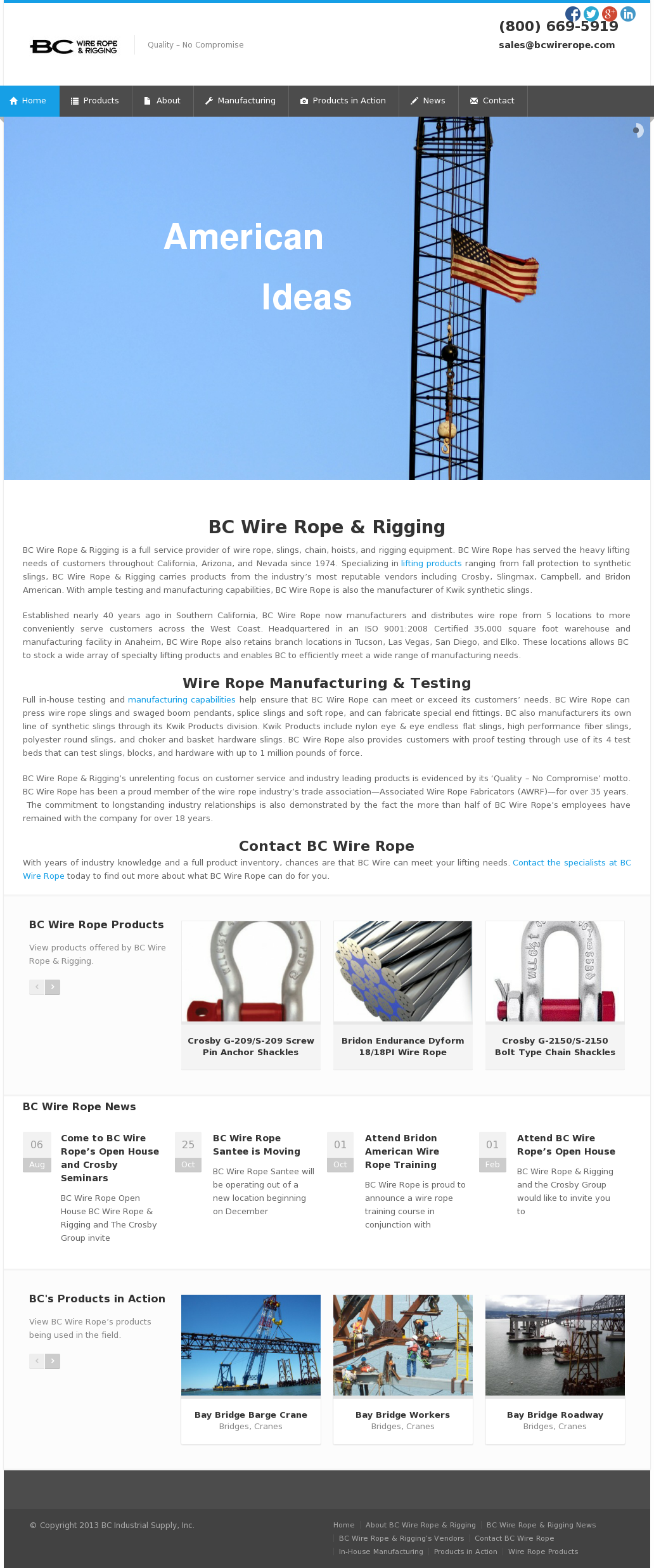 Funky Bridon Wire Rope Catalogue Image Collection - Electrical and ...