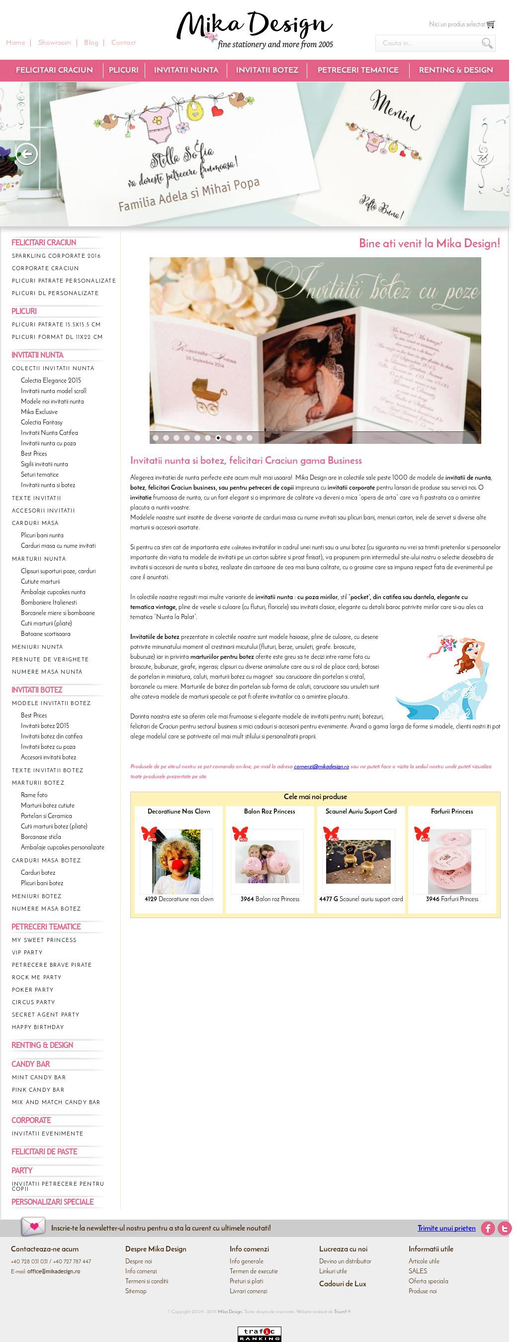 Mika Design Invitatii Nunta Si Botez Competitors Revenue And