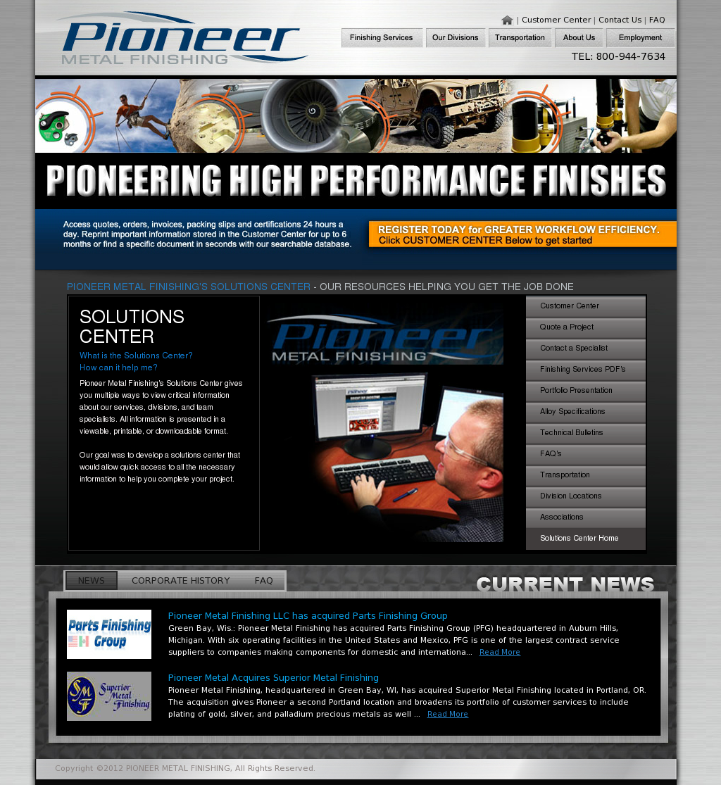 Pioneer Metal Finishing Competitors Revenue And Employees