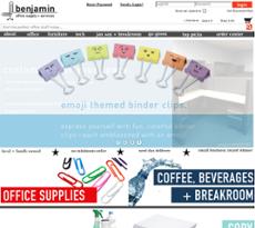 Ordinaire Benjamin Office Supply U0026 Services Website History