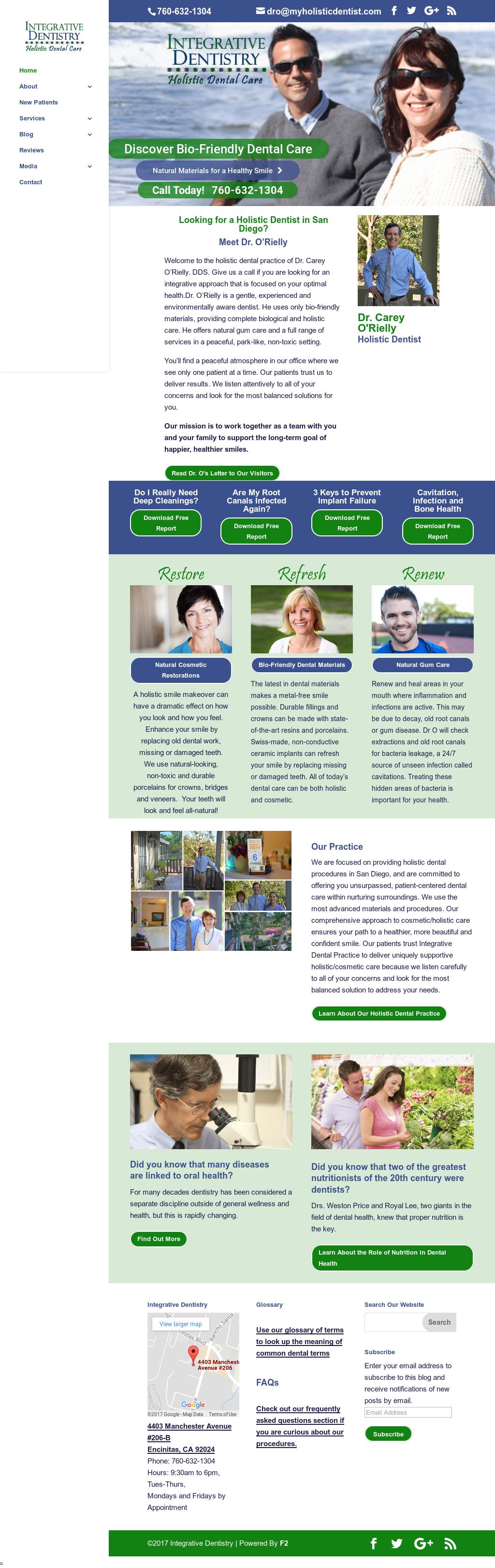 Integrative Dentistry, San Diego Holistic Dentist Competitors