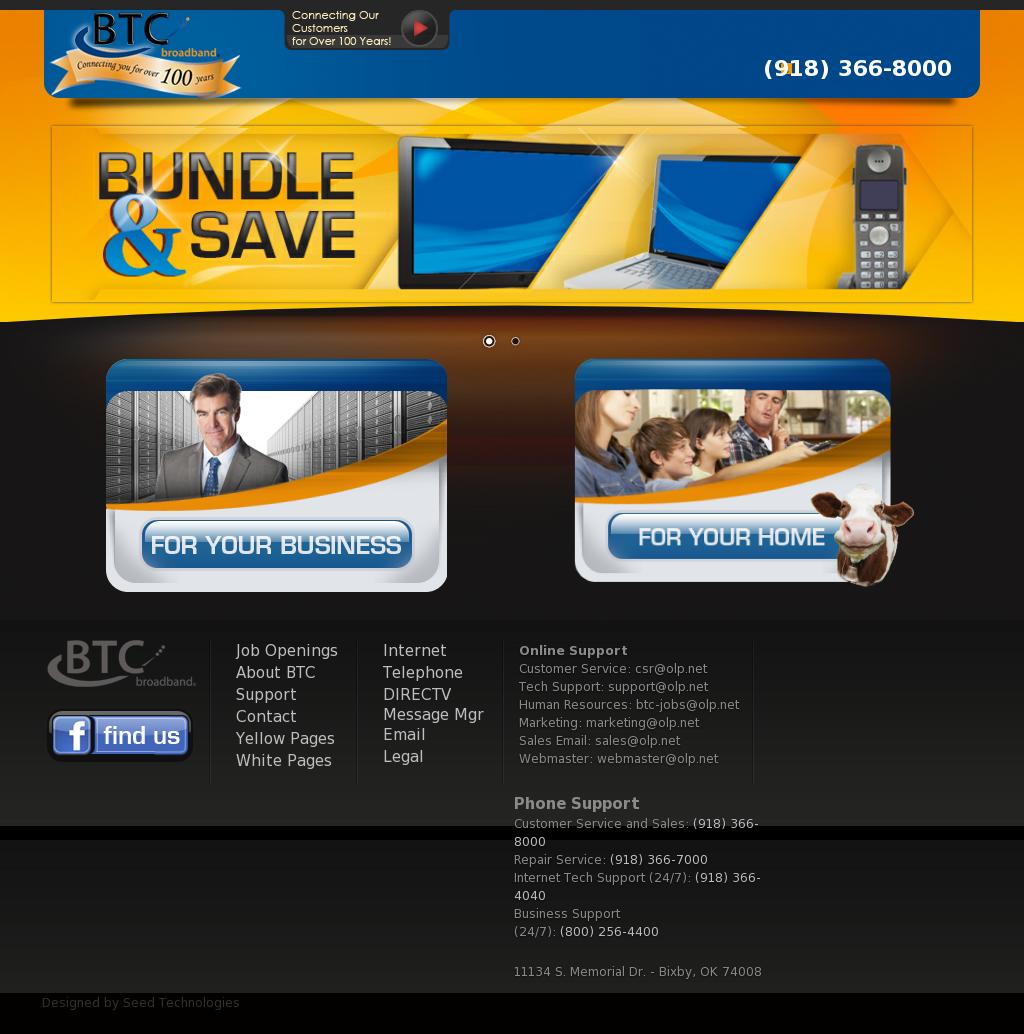 btc broadband bixby