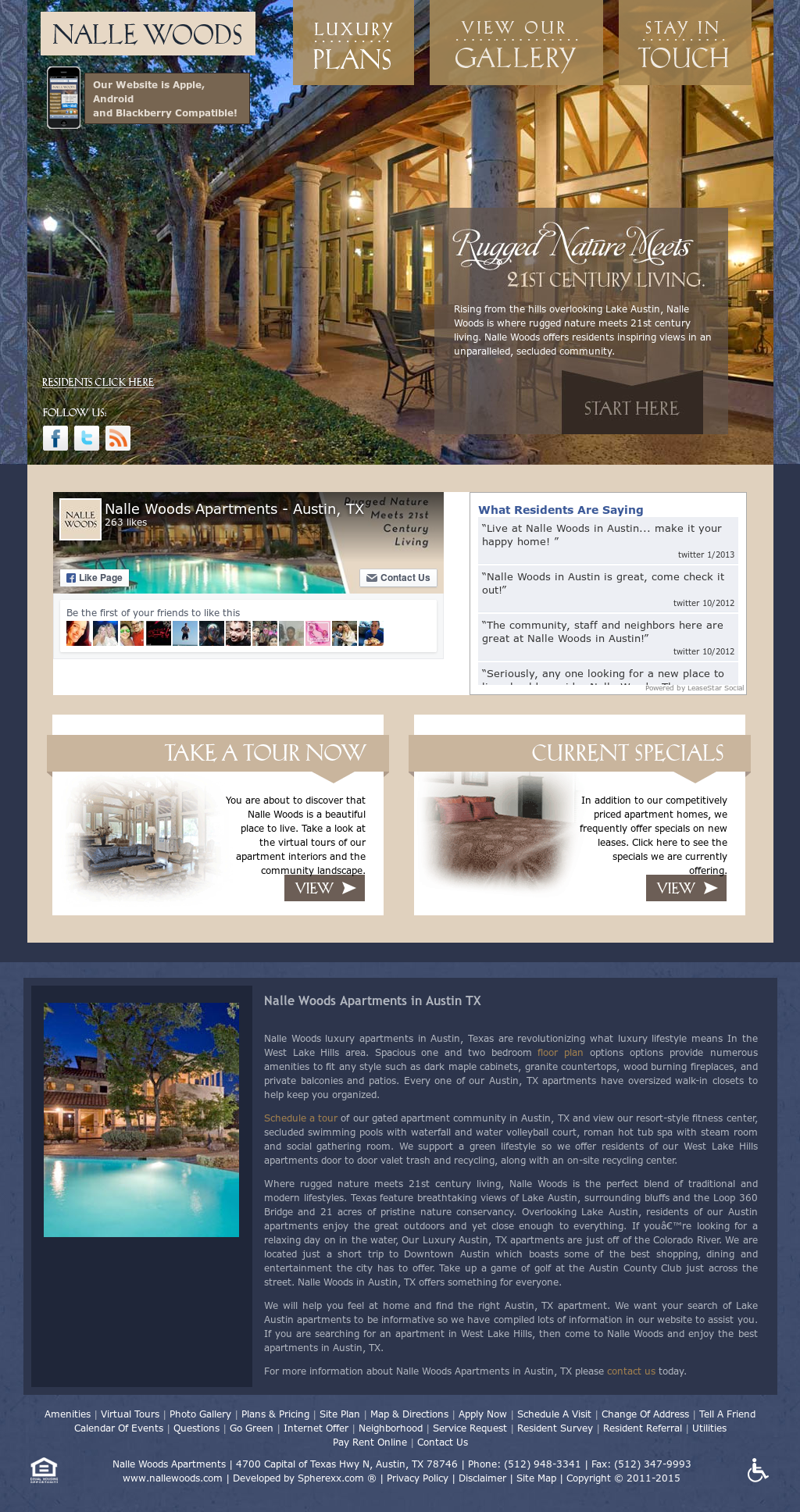 Nalle Woods Apartments - Austin, Tx Competitors, Revenue and