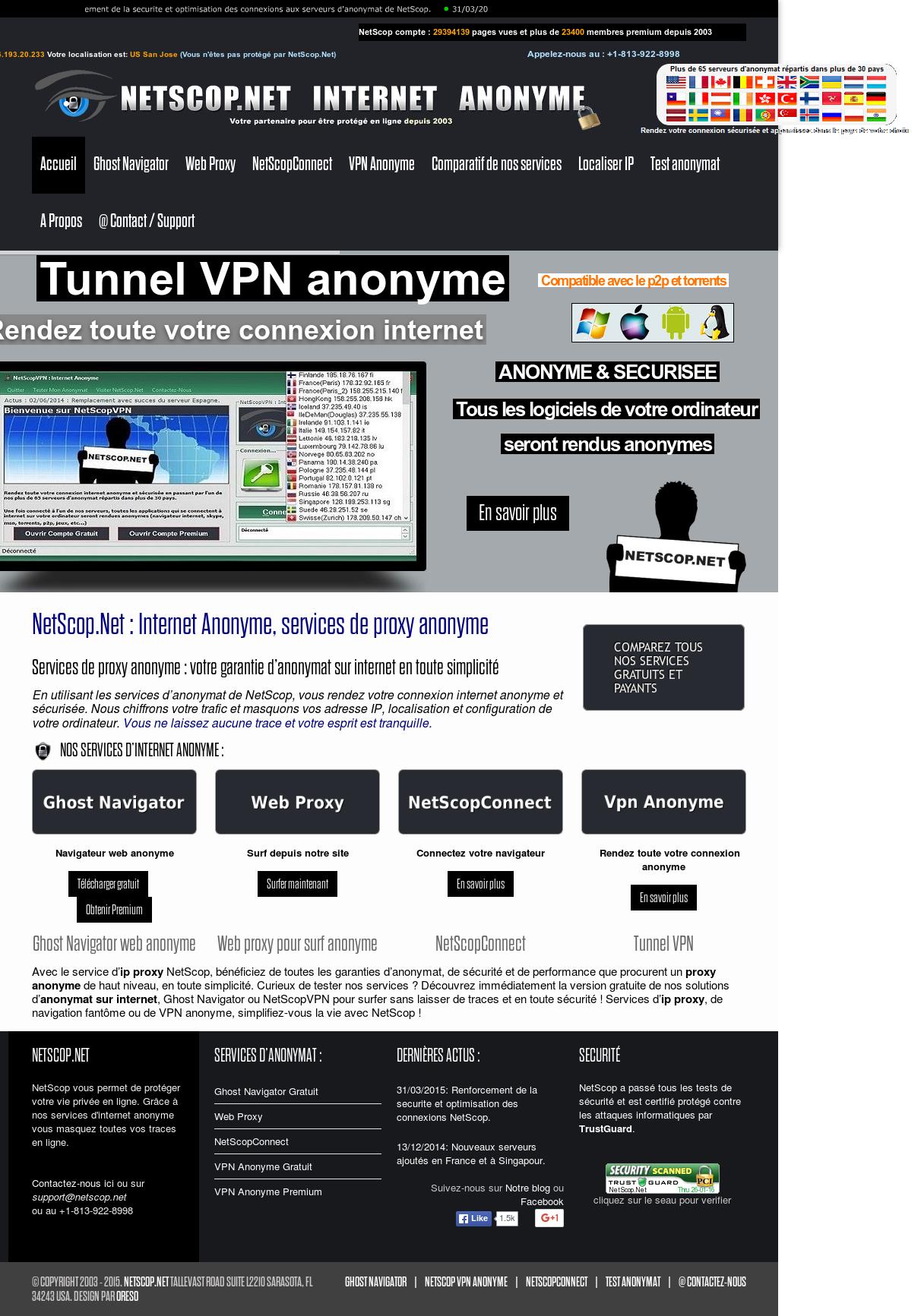 netscop vpn internet anonyme