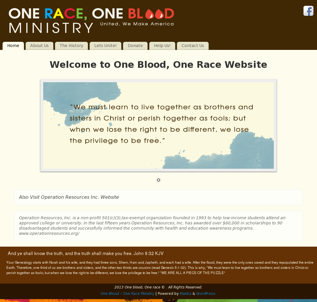 one blood website