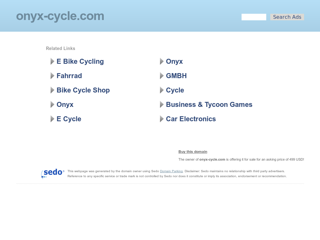 Onyx Cycle Competitors, Revenue and Employees - Owler