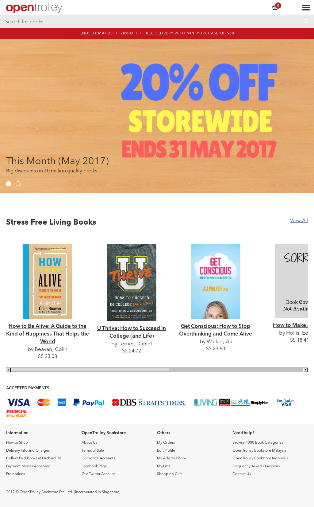 Opentrolley Bookstore Singapore Competitors, Revenue and
