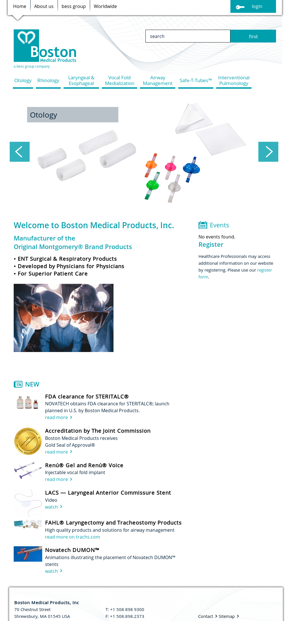 Owler Reports - Press Release: Boston Medical Products