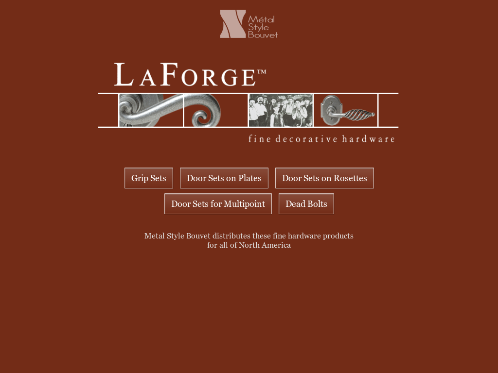 LaForge Website History
