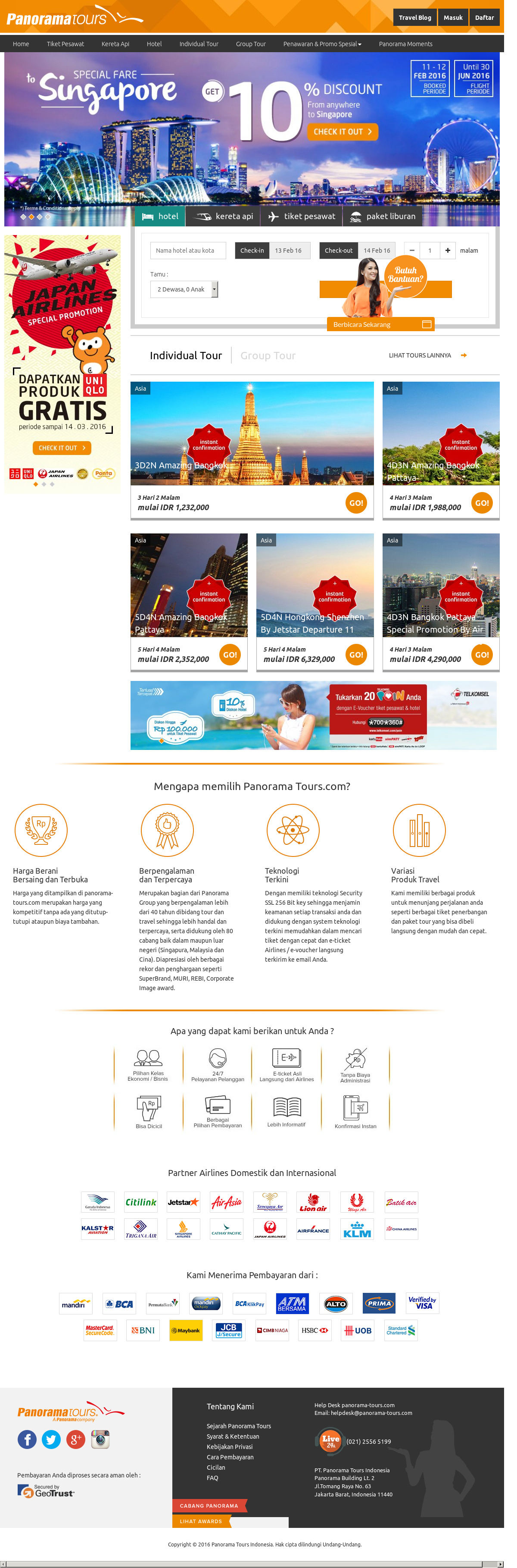 Panorama Tours Competitors Revenue And Employees Owler Company Tiket Garden By The Bay Dewasa Profile