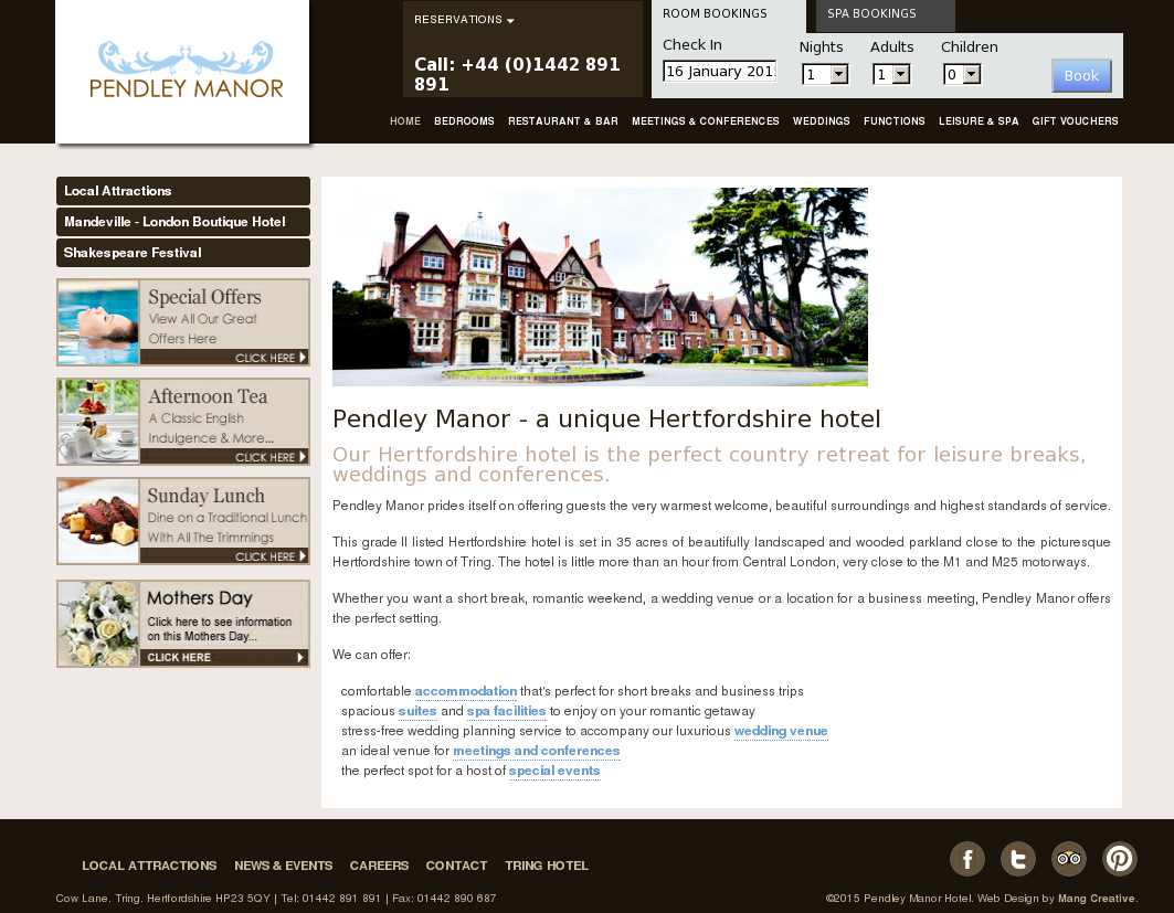 Pendley Manor Competitors, Revenue and Employees - Owler Company Profile