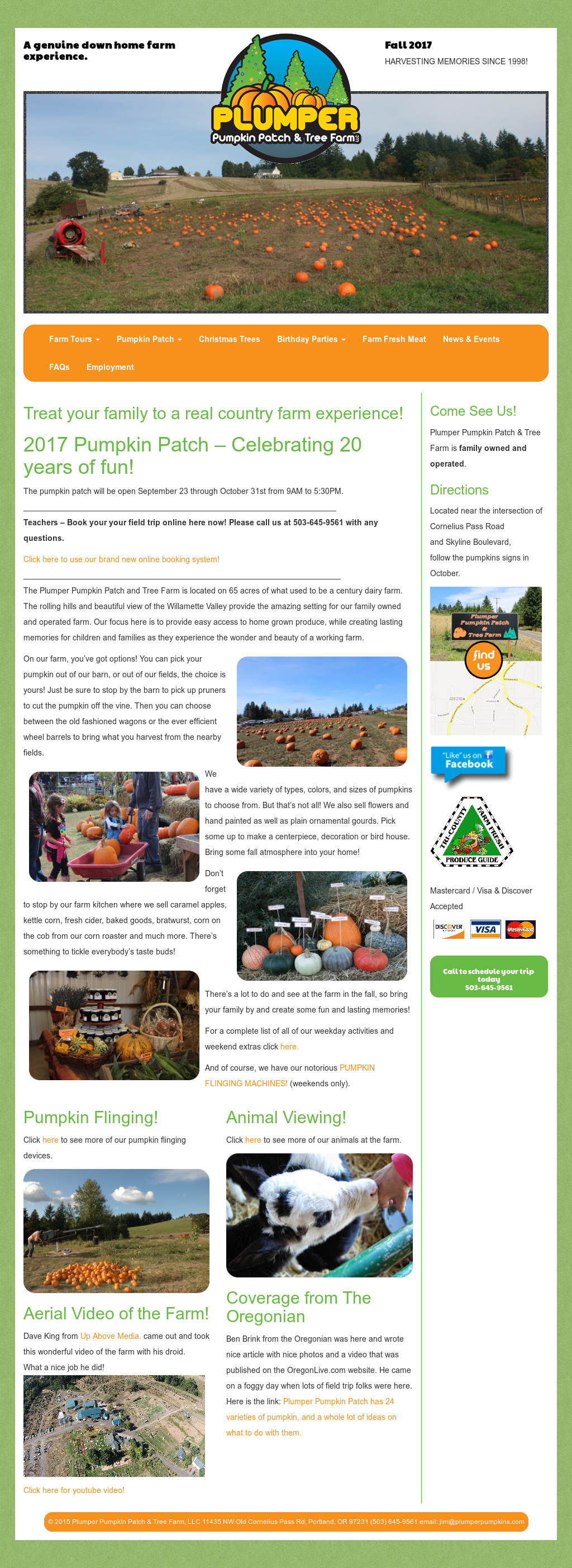 Plumper Pumpkin Patch Tree Farm S Competitors Revenue Number Of Employees Funding Acquisitions News Owler Company Profile