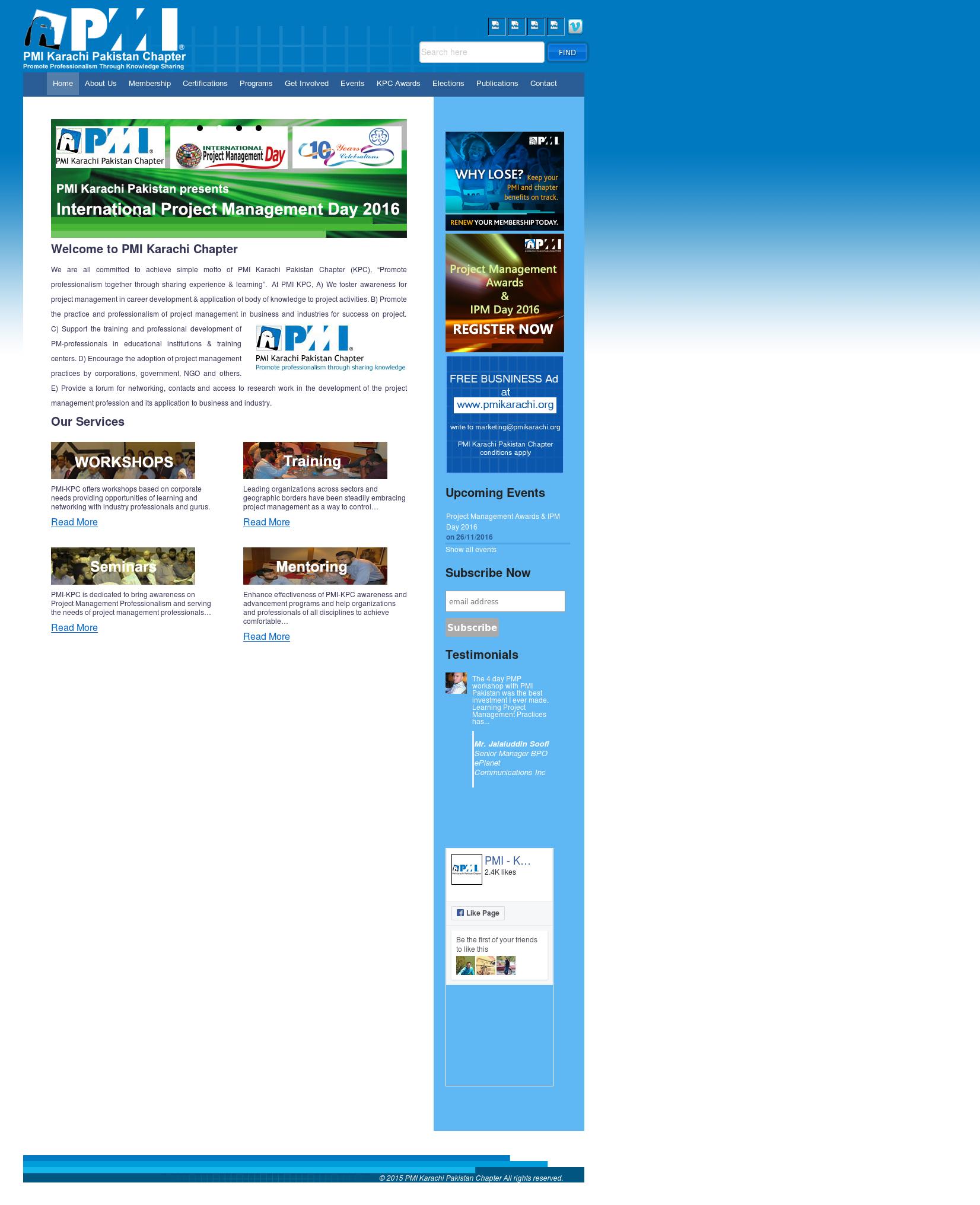 Pmi - Karachi Pakistan Chapter Competitors, Revenue and Employees