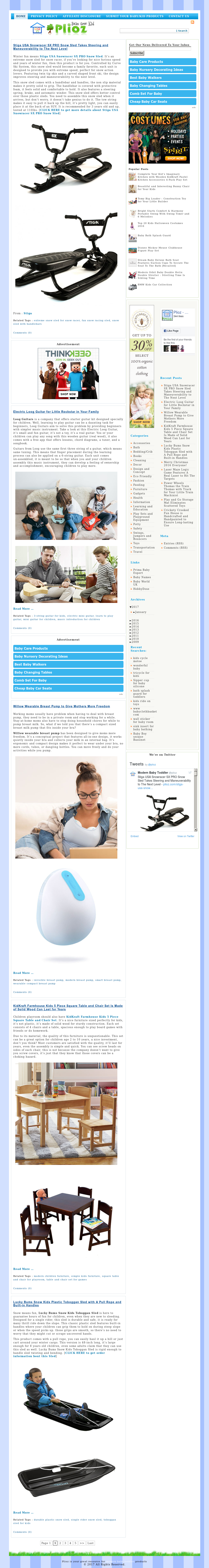 Plioz - Modern Baby, Toddler, And Kid Products Competitors