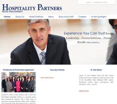 Hospitality Partners website history
