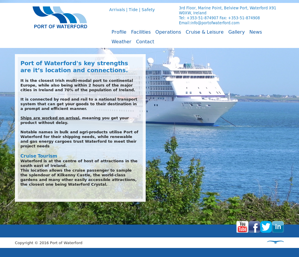 Port Of Waterford Competitors, Revenue and Employees - Owler Company