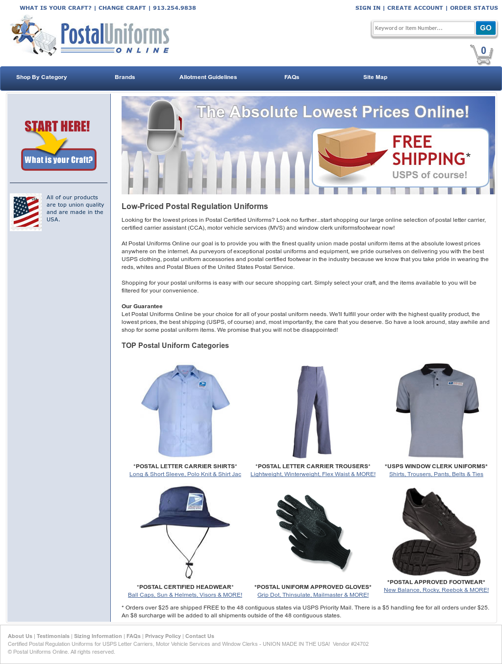 b870ab50cae Postal Uniforms Online Competitors