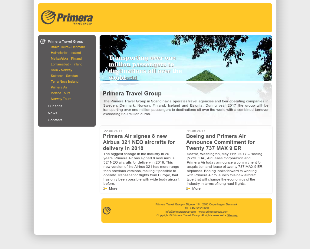 Primera Travel Group Competitors, Revenue and Employees - Owler