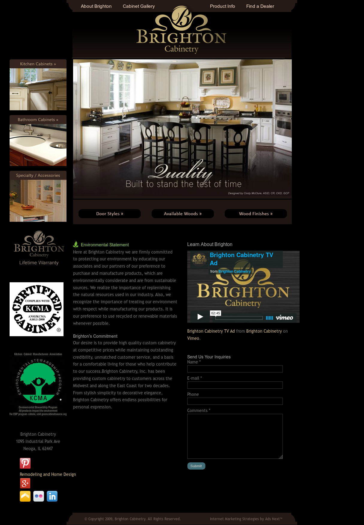 Brighton Cabinetry Competitors, Revenue And Employees   Owler Company  Profile