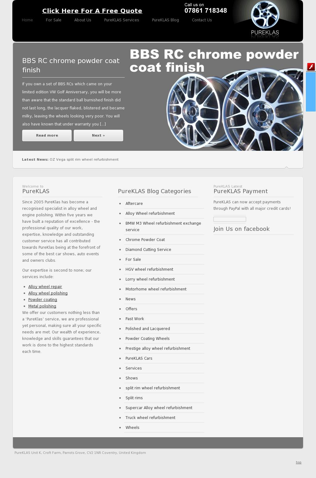 8e75902d01c Pureklas Wheel Refurbishment And Polishing Competitors