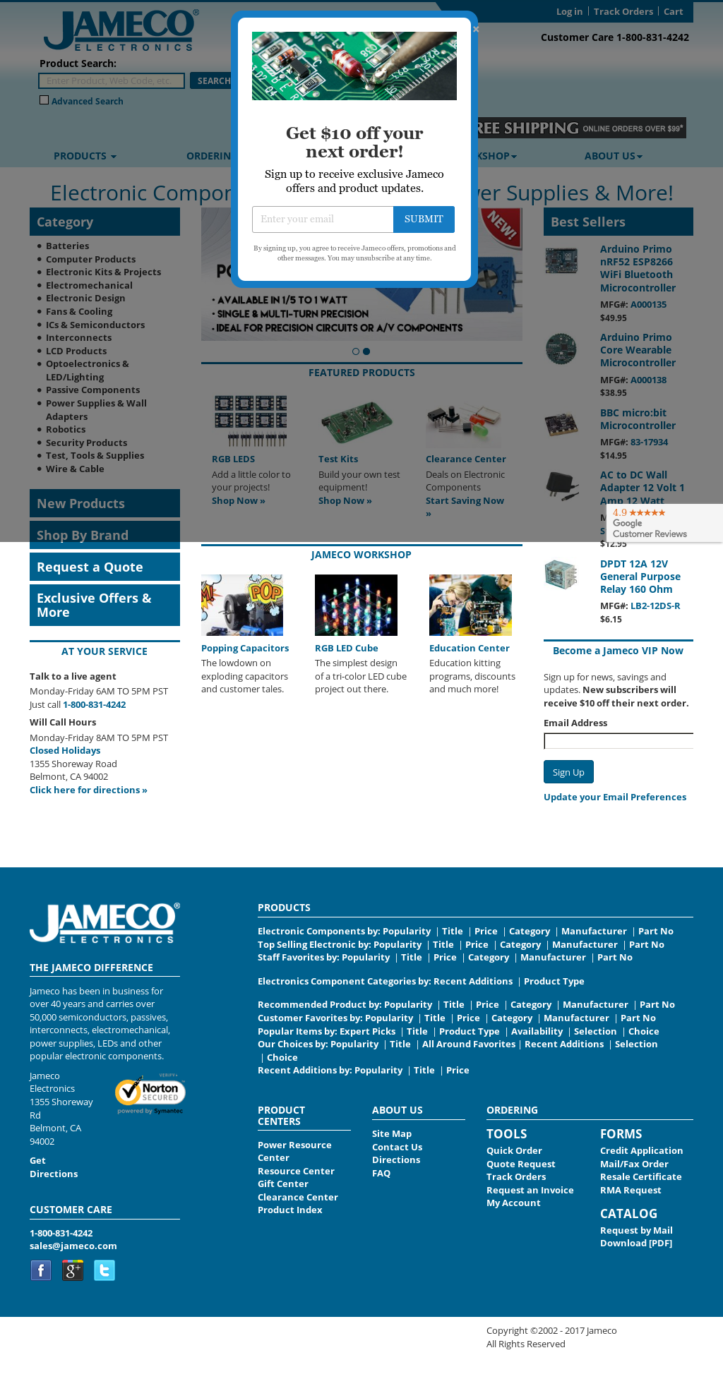 Jameco Competitors, Revenue and Employees - Owler Company