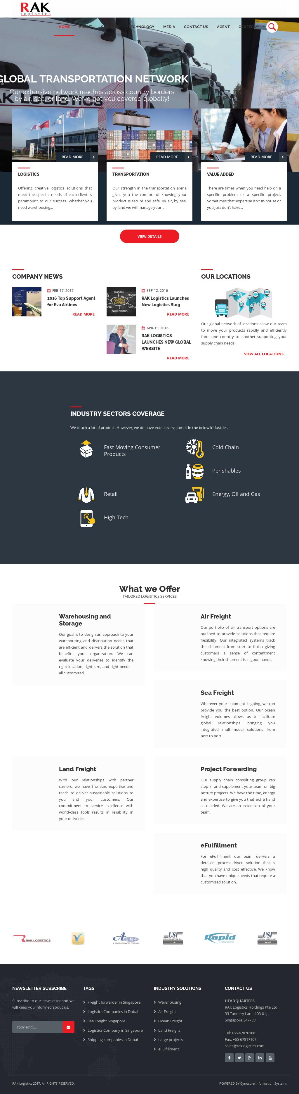 Rak Logistics Competitors, Revenue and Employees - Owler