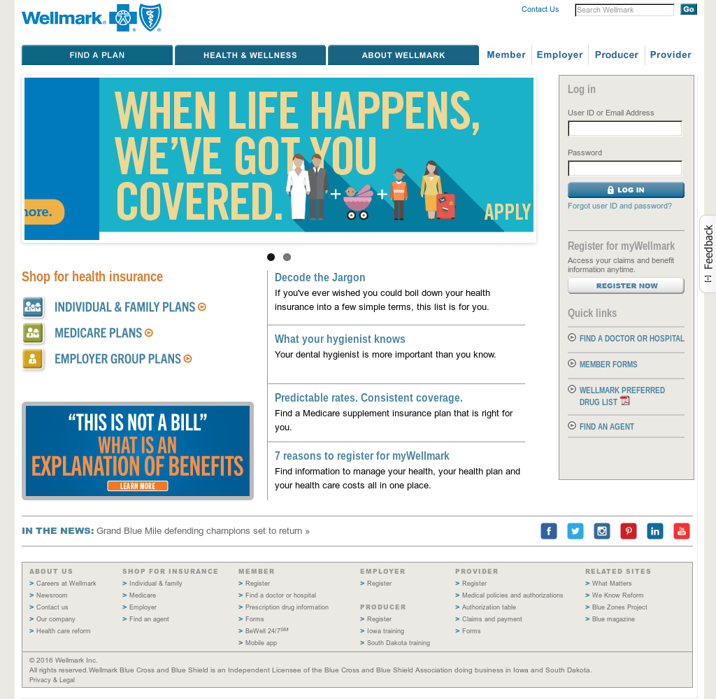 Wellmark Competitors, Revenue and Employees - Owler Company