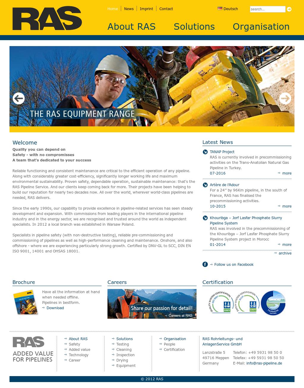 Ras Pipeline Competitors Revenue And Employees Owler Company Profile