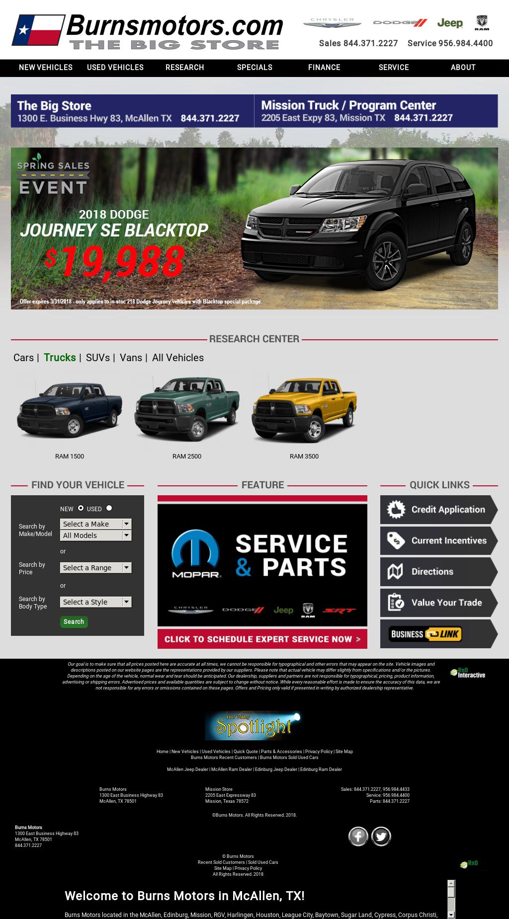 Burns Motors Mcallen >> Burns Motors Competitors Revenue And Employees Owler