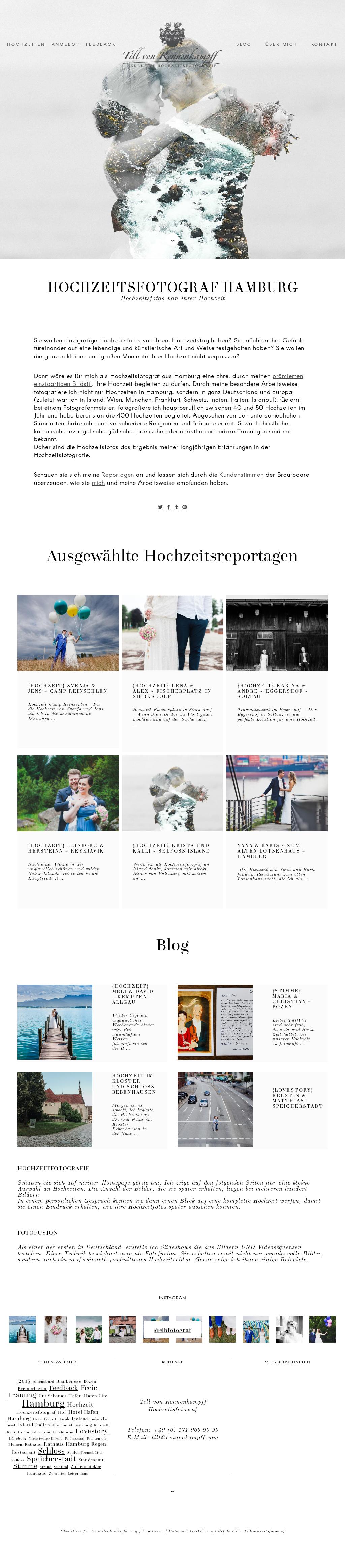 Till Von Rennenkampff Wedding Photography Competitors, Revenue and ...
