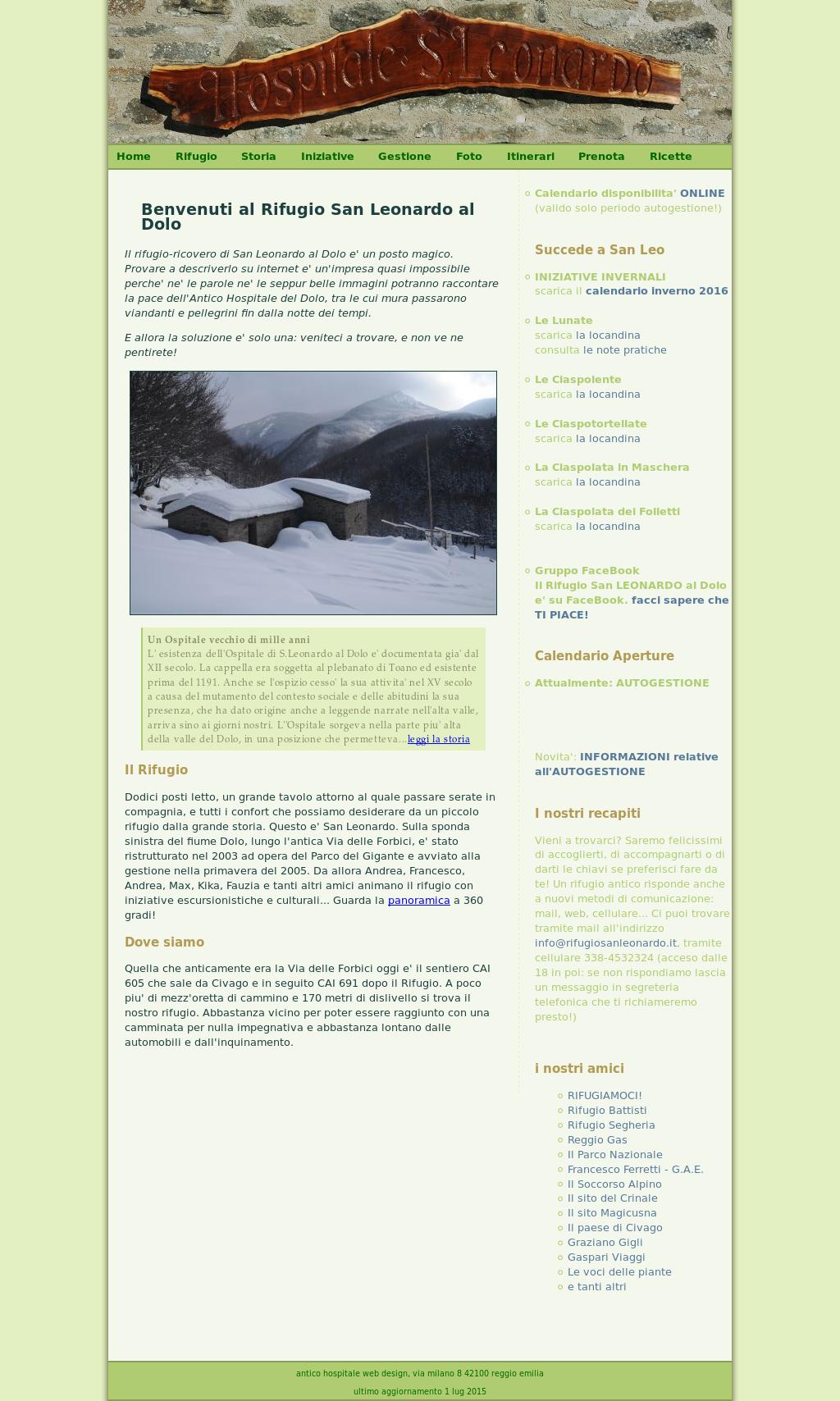San Leonardo Calendario.Rifugio San Leonardo Al Dolo Competitors Revenue And