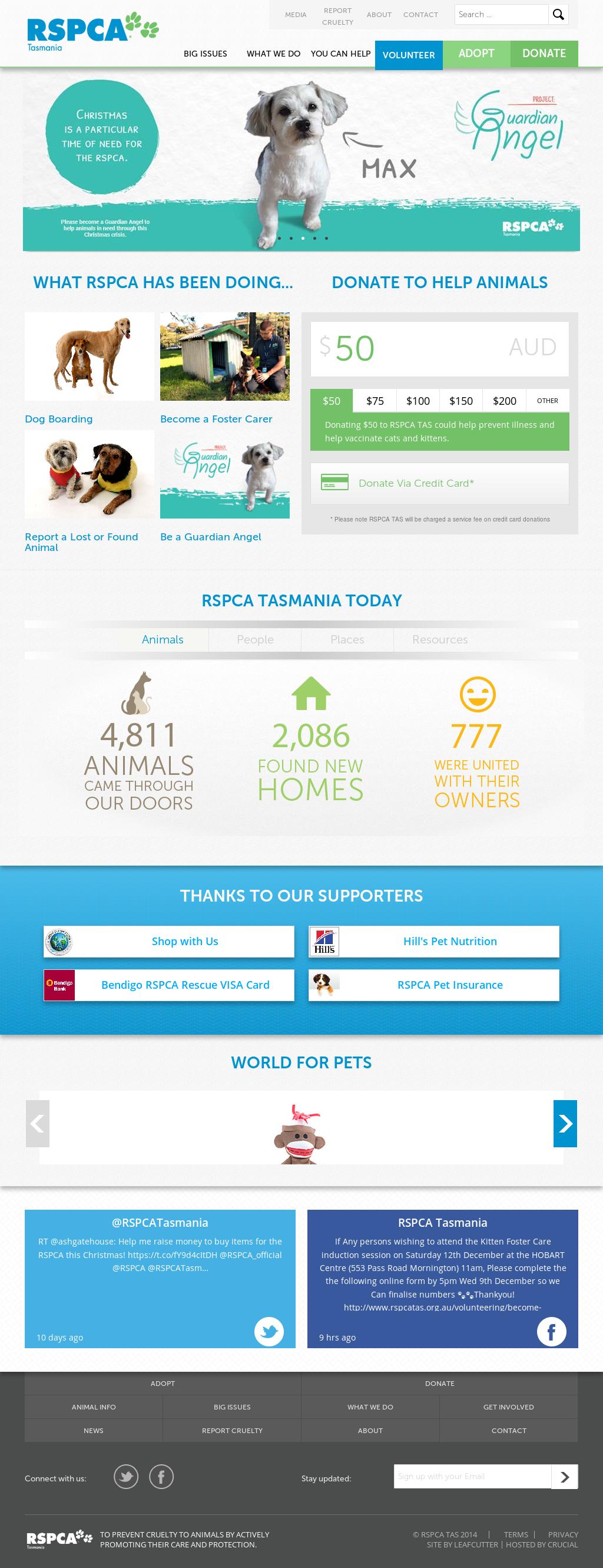 Rspca Tasmania Competitors, Revenue and Employees - Owler Company