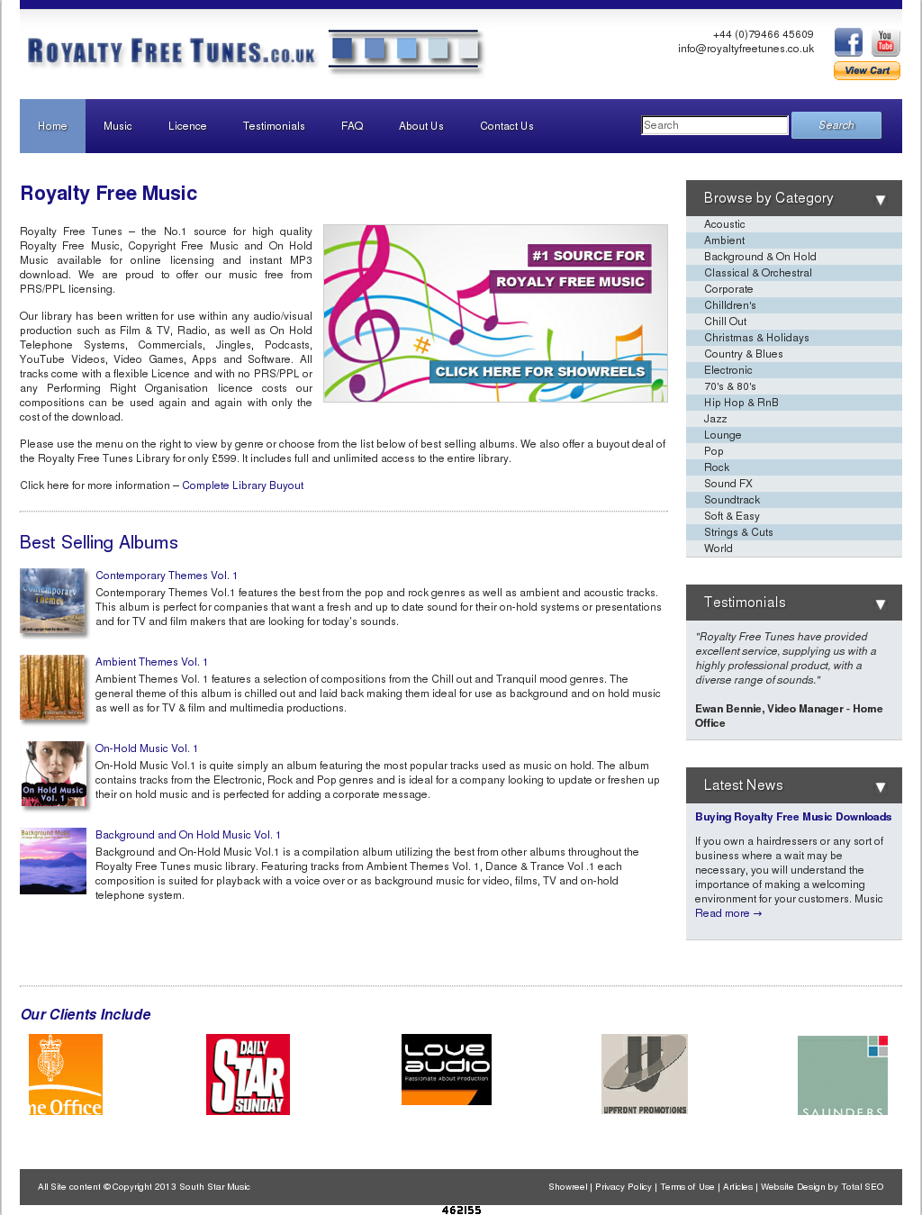 Royalty Free Tunes Competitors, Revenue and Employees