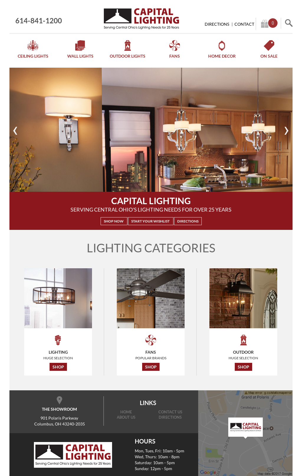 Capitallightinginc Website History