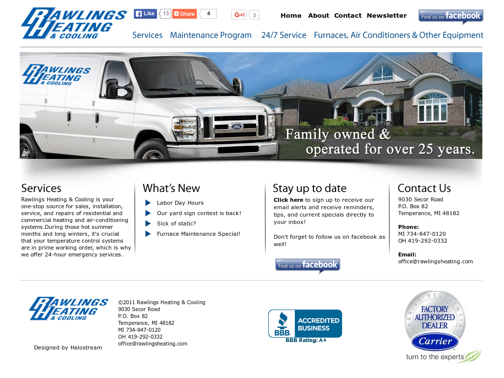 Rawlings Heating Cooling Compeors Revenue And Employees Owler Company Profile
