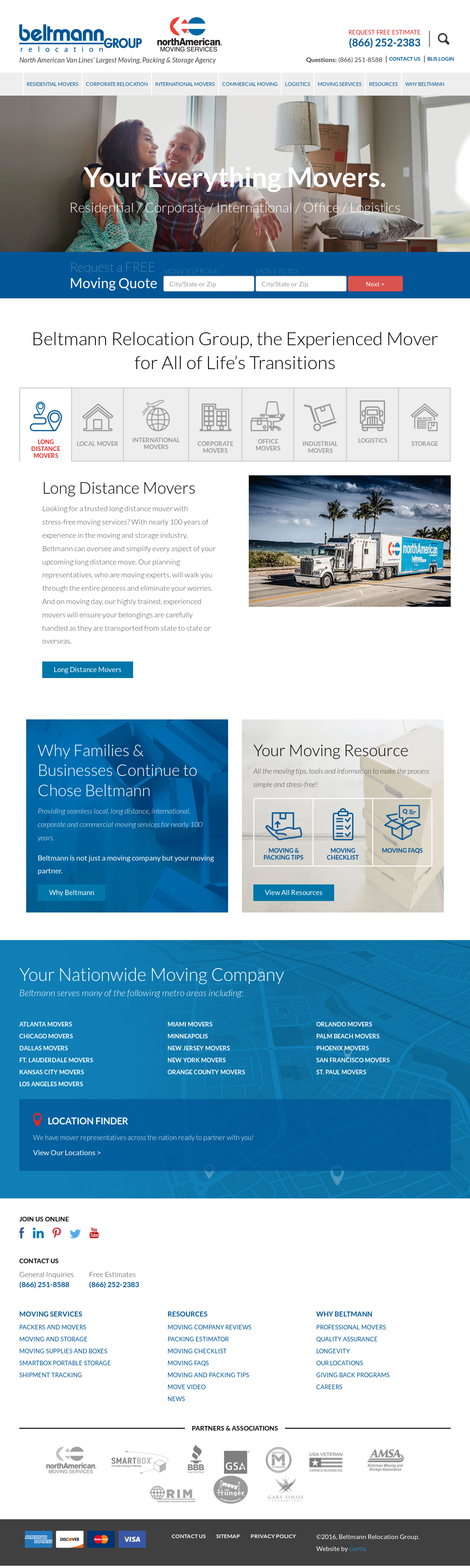 Beltmann Relocation Group Compeors Revenue And Employees Owler Company Profile