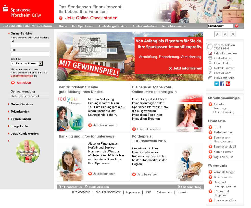Online Banking Pforzheim Calw