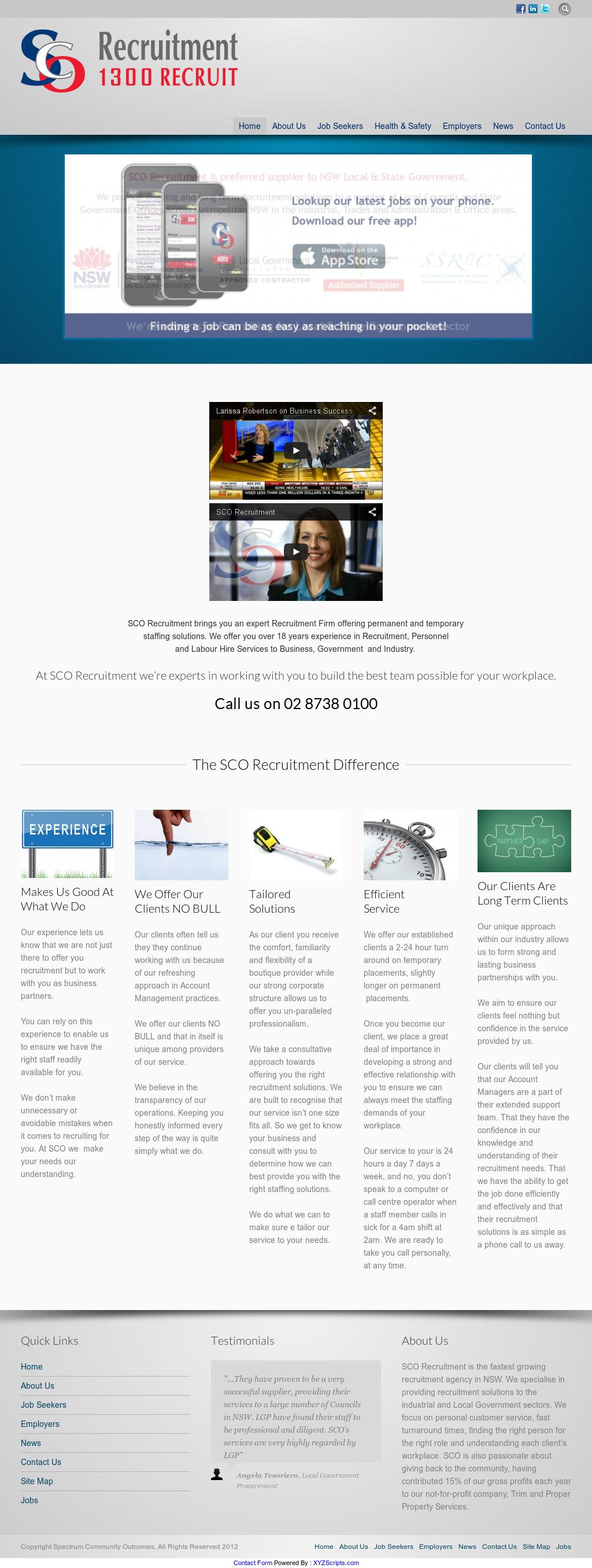 Sco Recruitment Competitors, Revenue and Employees - Owler