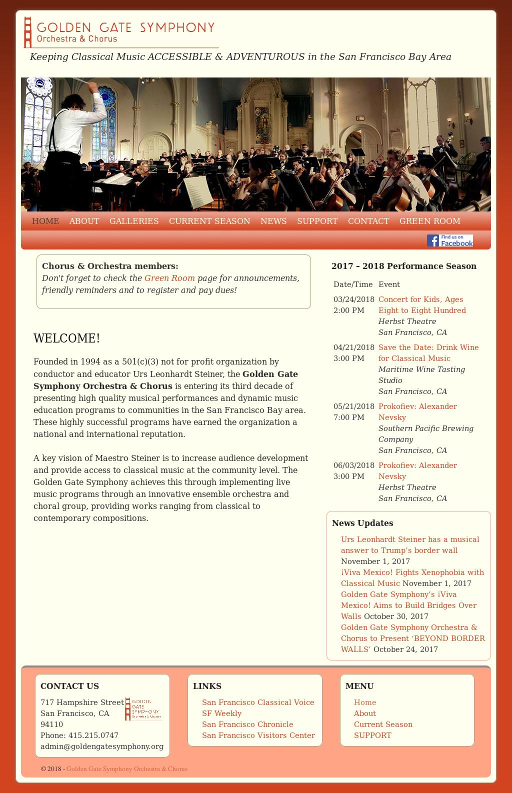 San Francisco Sinfonietta Orchestra & Chorus Competitors, Revenue