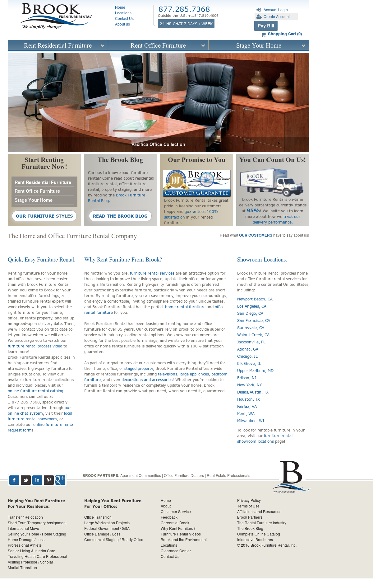 Brook Furniture Rental Competitors, Revenue And Employees   Owler Company  Profile