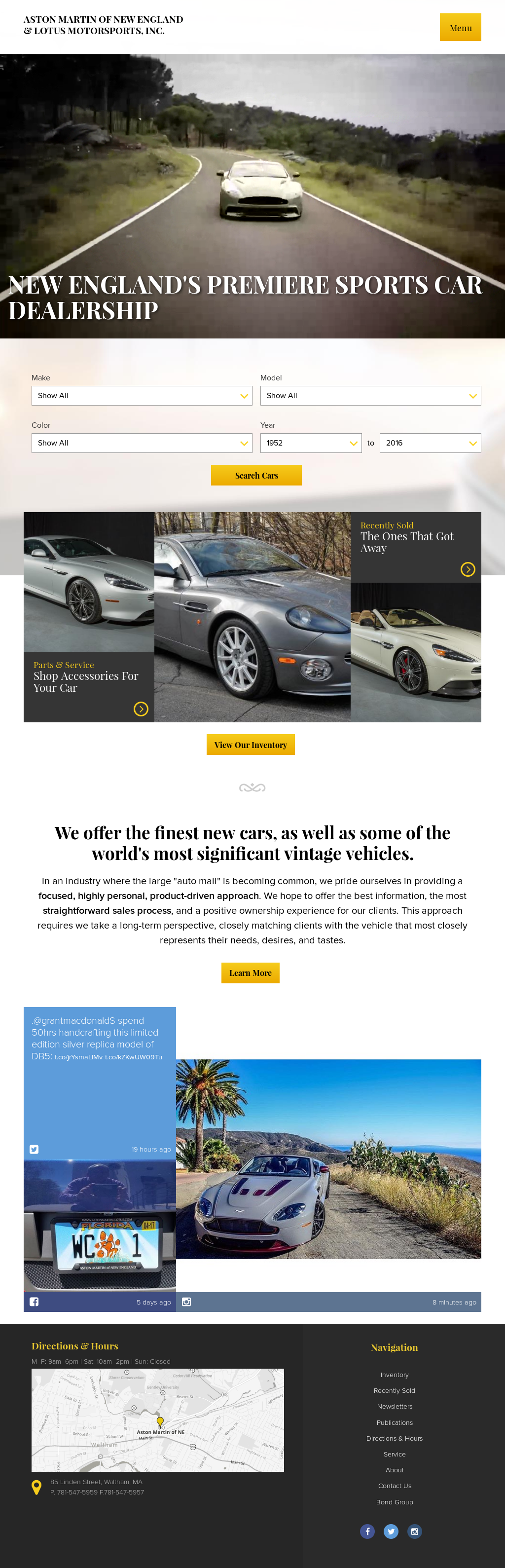 aston martin of new england s competitors revenue number of employees funding acquisitions news owler company profile owler