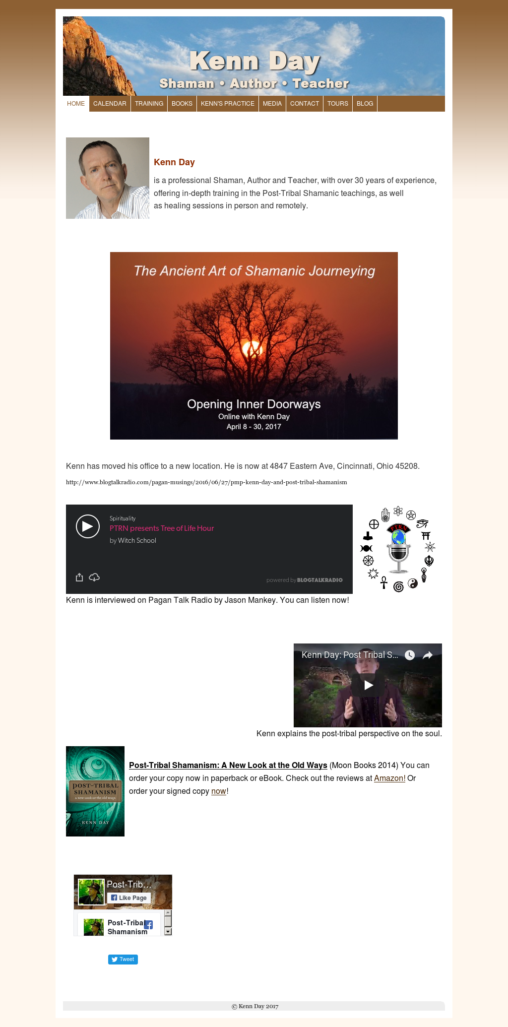 post tribal shamanism day kenn