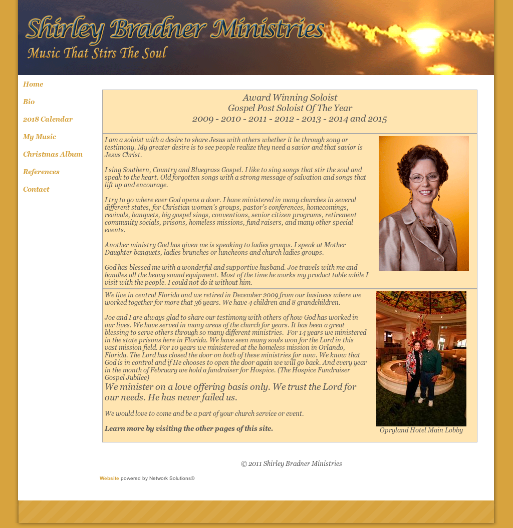 Shirley Bradner Ministries Competitors, Revenue and Employees