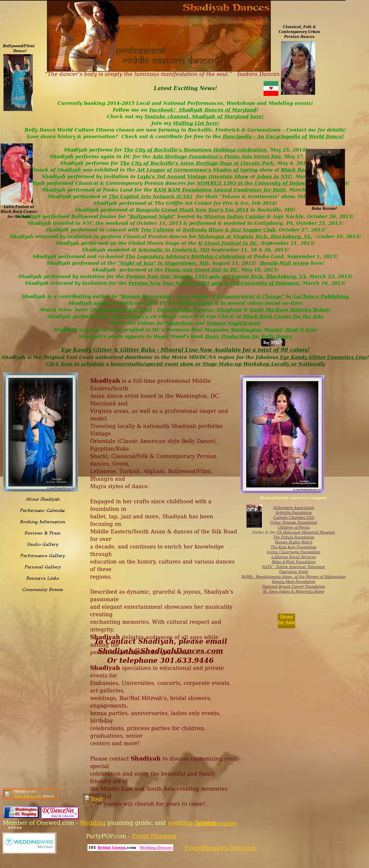 Shadiyah Dances Of Maryland Competitors, Revenue and