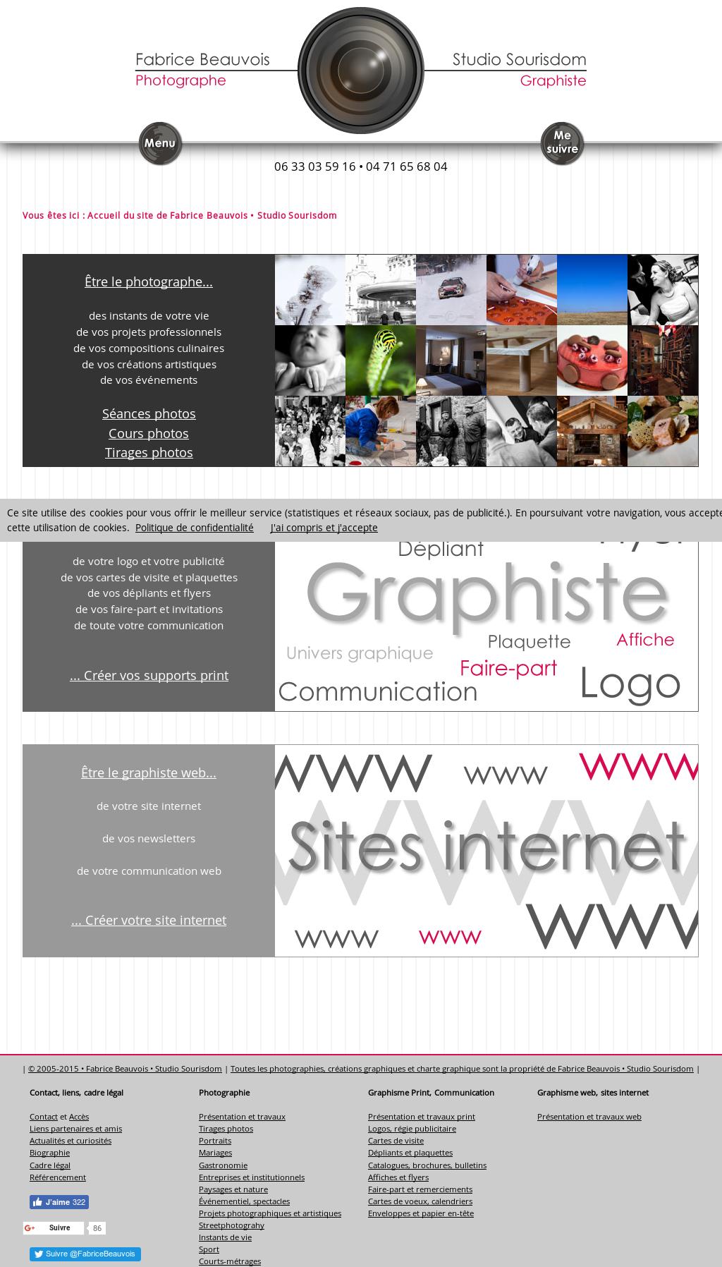 Meilleur Site Pour Photographe fabrice beauvois, studio sourisdom : photographe et