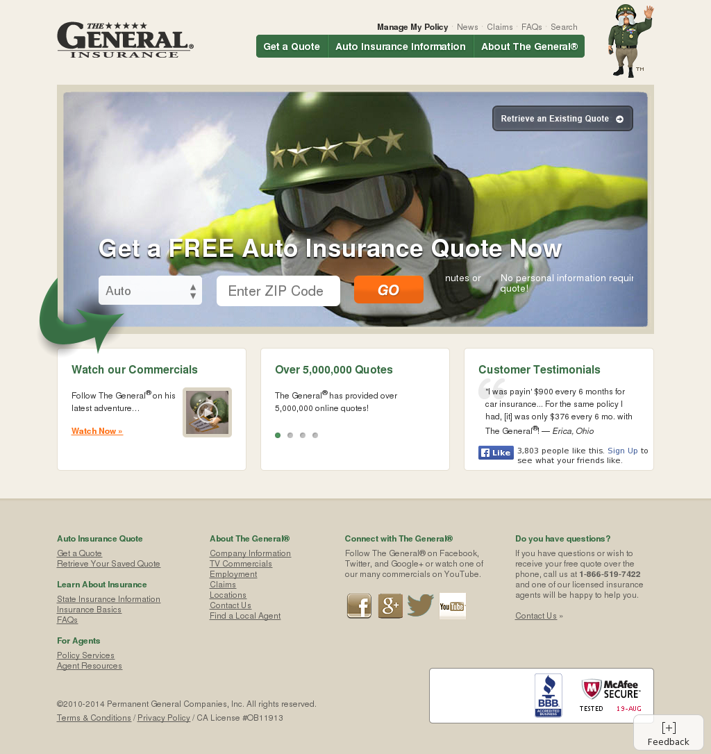 The General Competitors Revenue And Employees Owler Company Profile