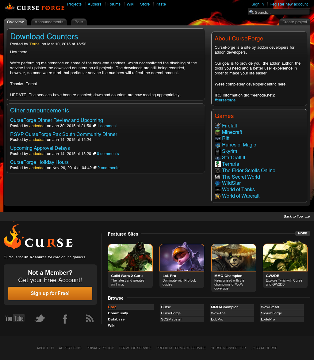 Curseforge Competitors, Revenue and Employees - Owler