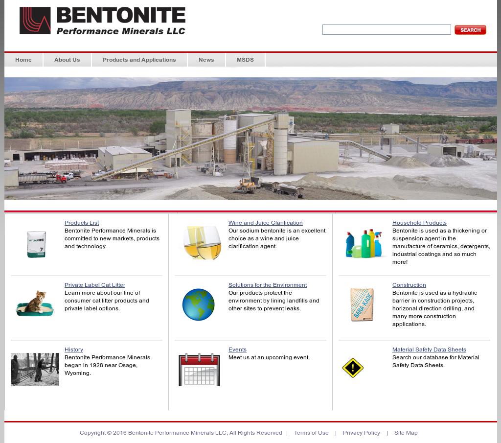 Bentonite Competitors, Revenue and Employees - Owler Company
